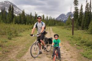 Biking to Watridge Lake
