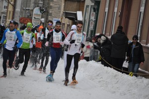 Quebec City's Winter Carnival Snowshoe Race will include the ISSF World Championship in 2015