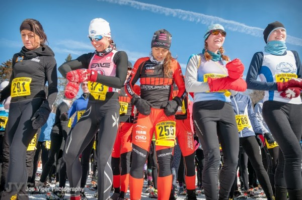 Excitement reigns just prior to start of the 2014 USSSA Women's National Championship Race in Vermont
