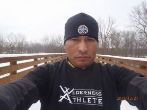 "The ""300-Mile Man"" Roberto Marron Trains For His Silver-Medal 150 Run Finish (photo credit: roberto)"