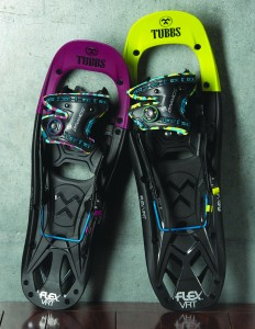 Tubbs FLEX VRT snowshoes with Boa lacing