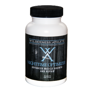 Maximize results of training; include the nutritional support of Nighttime Optimizer into your routine daily