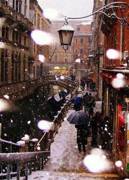 Winter in Beautiful Venice