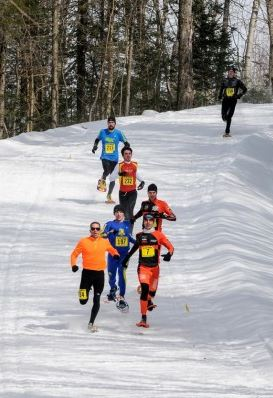 Top 5 of the men and women's class are automatic selections for the US National Snowshoe Team.