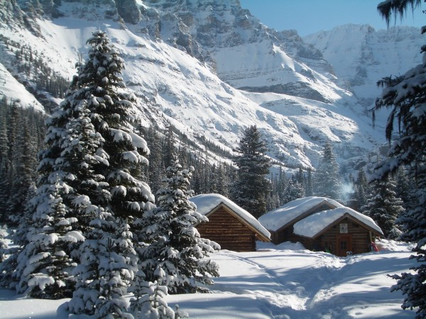 Staying at the Elizabeth Parker Hut in Yoho National Park