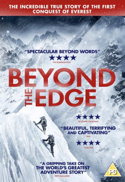 beyond the edge movie poster with red