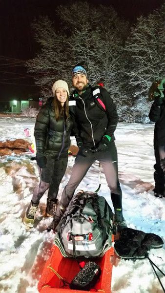 "Edward Sandor gamely made 105 miles before the leg gave out. ""I told myself 'I can do this"" a billion times, and I believed it for a while, but the pain kept building. Every few steps my leg would move in a way it shouldn't."" Courtesy Edward Sandor"