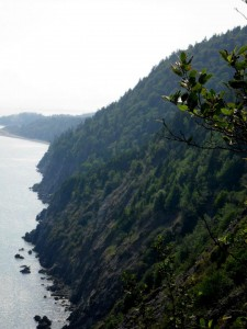 Rugged Coastline of the Fundy Foot Path